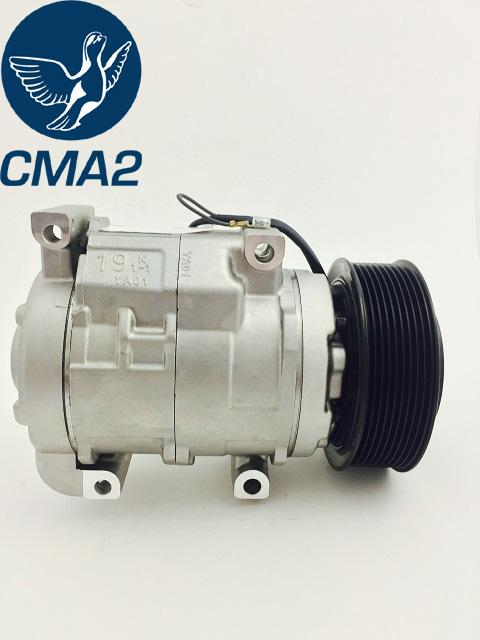 Компрессор кондиционера Тойота Ленд Крузер 200 4.5 Diesel, 88320-6A320, 88310-6A350, 883206A320, 883106A350.