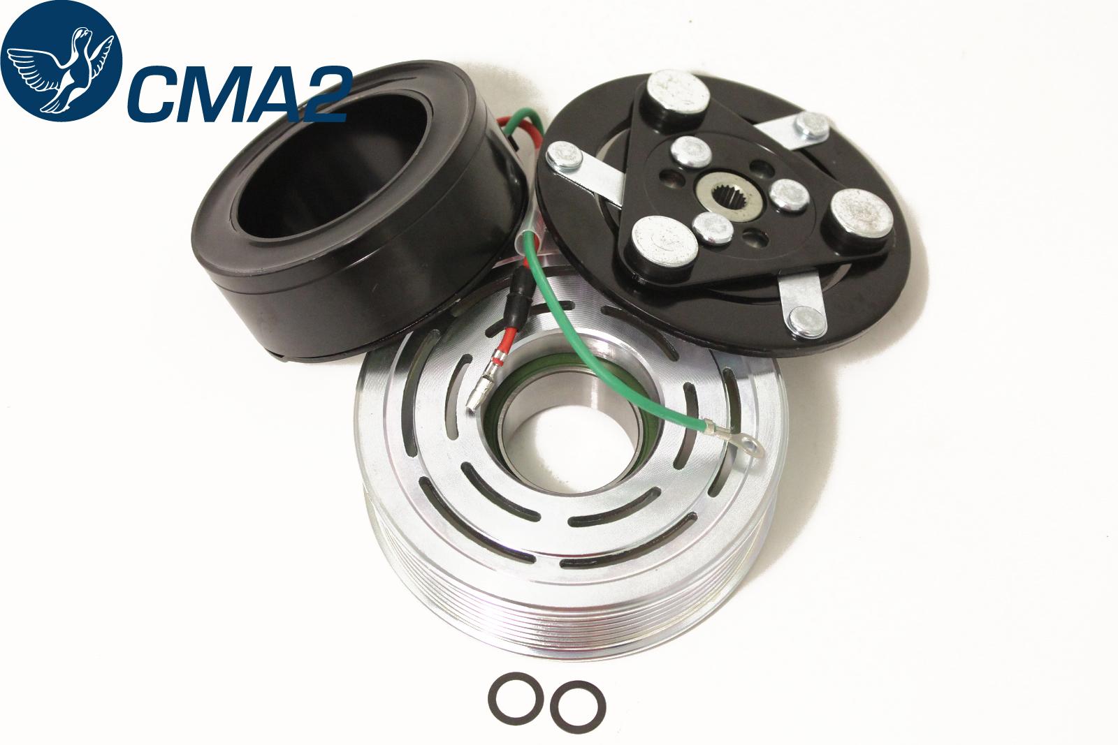 Муфта компрессора кондиционера Хонда ЦРВ-3 2.4, 38900-RZA-004, 38900-RZA-014, 38924-RWC-A01, 38924-RWC-A02.