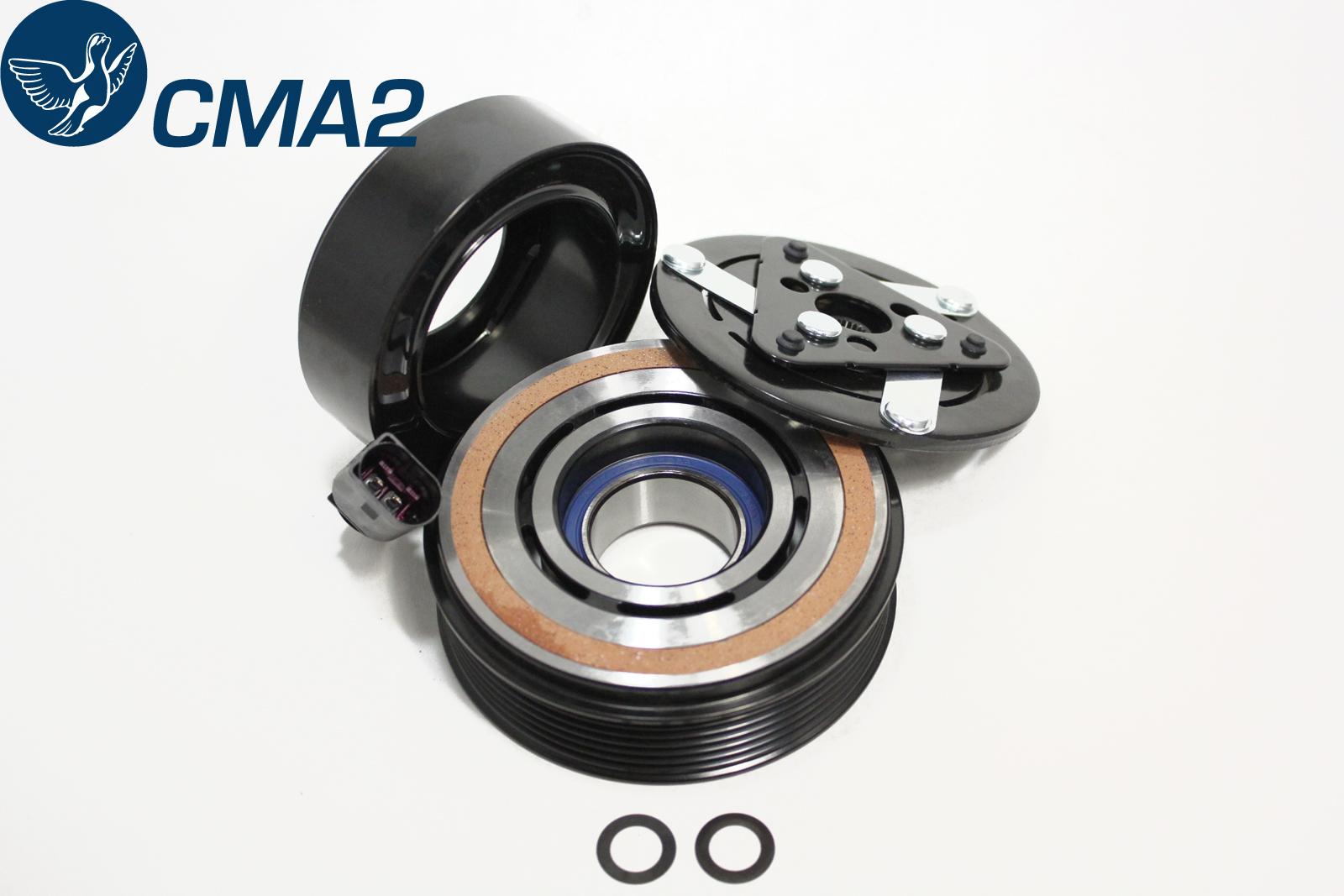 Муфта компрессора кондиционера Фольксваген Поло седан 1.6 6RD820803 6RD820803D