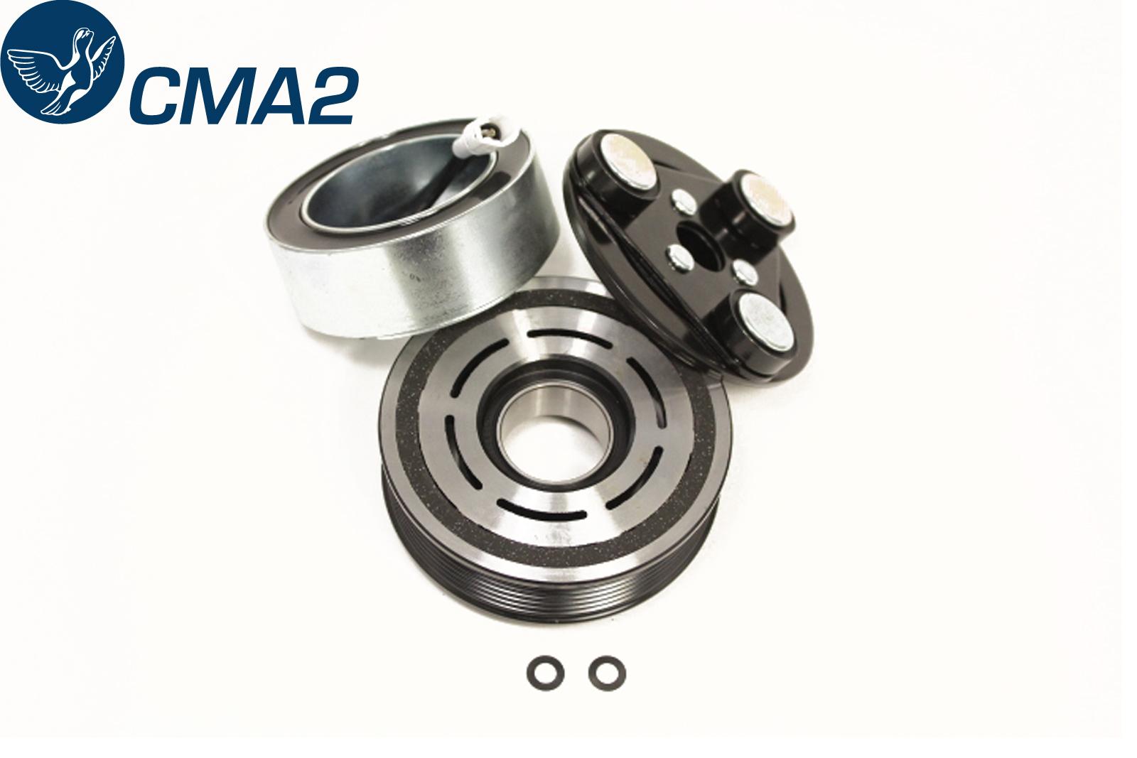 Муфта компрессора кондиционера Мазда СХ-7 (ER) 2.3 Turbo, EG21-61-L20, EG21-61-L30A, EG2161L20, EG2161L30A.
