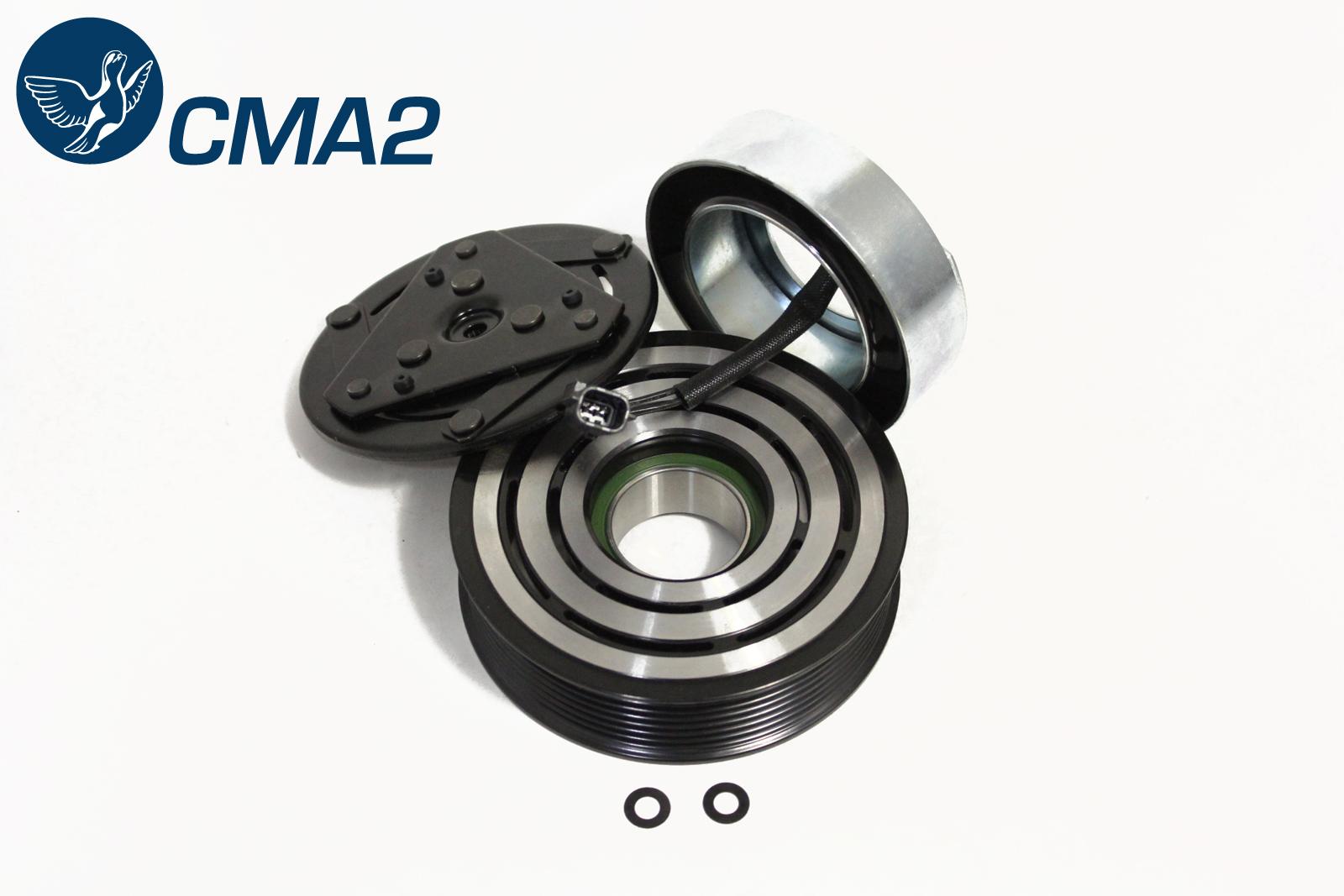 Муфта компрессора кондиционера Ниссан Кашкай J10 1.6 (HR16DE)   92660-JD00A.